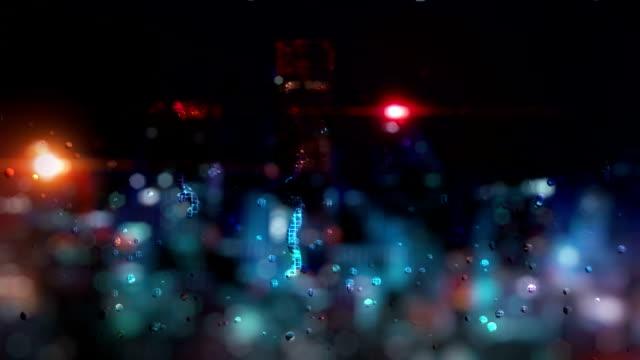 rain scene video