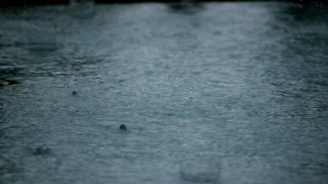 Rain Splashing video
