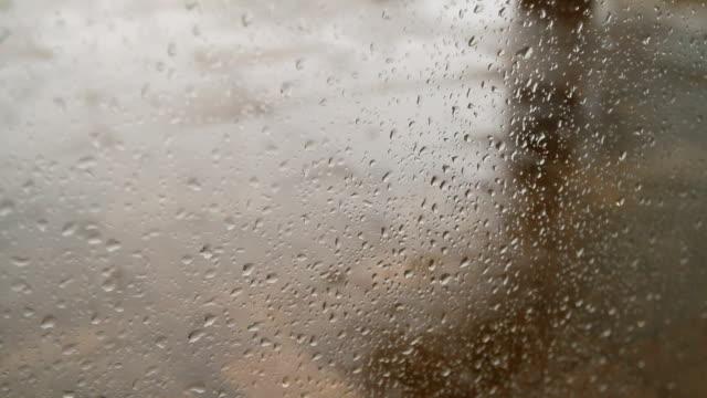 rain through the window video