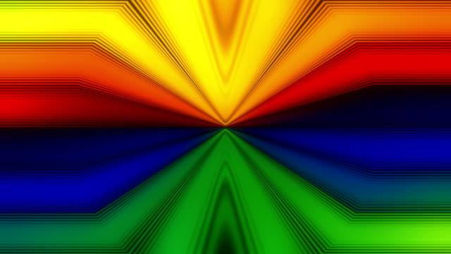 LGBT rainbow background video