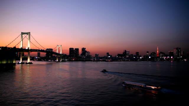 レインボーブリッジや東京タワー ビデオ