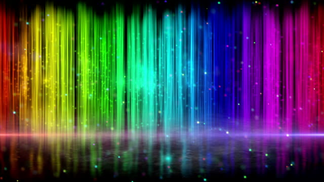 rainbow color stripes abstract loopable background video