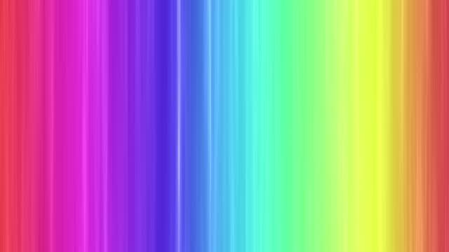 レインボーカラー垂直スピーディーな背景 - 幸運点の映像素材/bロール