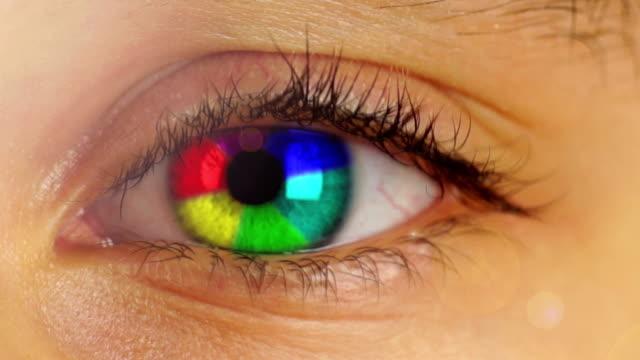Rainbow Eye video