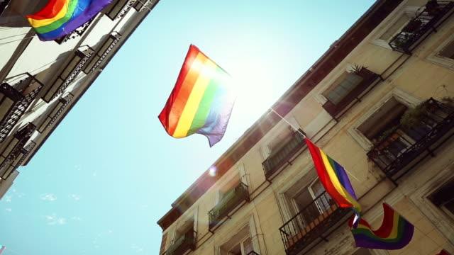 Rainbow Flag Gay Rights Pride video