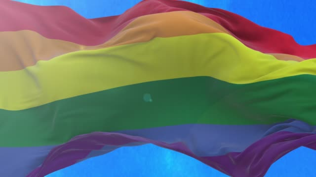Rainbow flag. The rainbow flag is a rainbow flag that is used as a symbol of lesbian, gay, bisexual, transgender, and queer pride and LGBTQ social movements. bisexuality stock videos & royalty-free footage