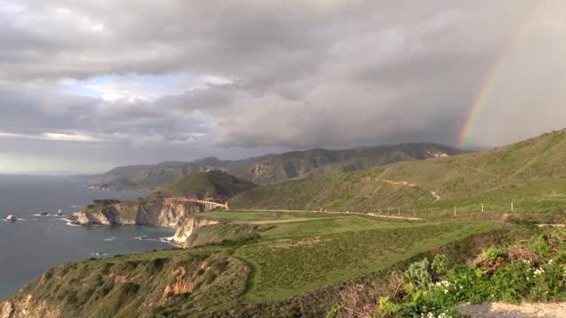 Rainbow Over Big Sur Coast video