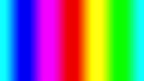 gradiente spettrale arcobaleno che si muove rapidamente a sinistra, loop senza soluzione di continuità - collina video stock e b–roll