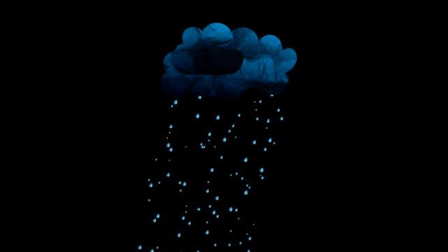 rainclouds - film animowany filmów i materiałów b-roll