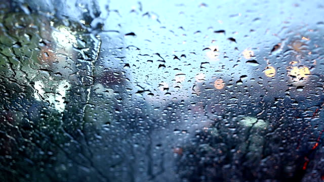 raindrops on mirror car video