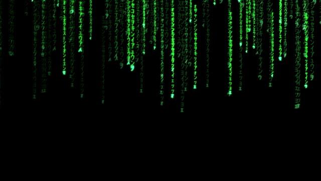 Raining Random Data Codes video