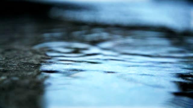 vídeos de stock e filmes b-roll de a chover - alfalto
