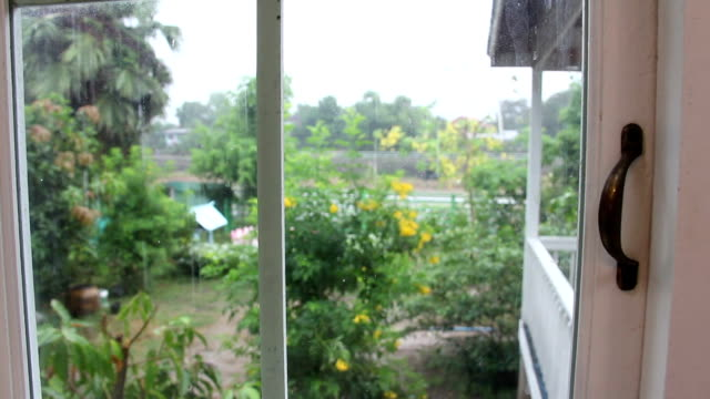 rainning at home video