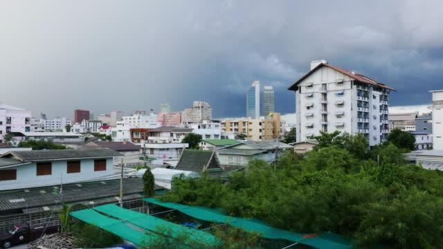 Rainy Day - Cityscape Time Lapse video