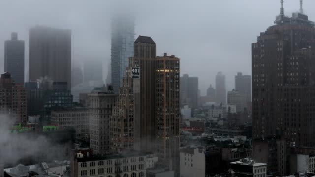장 다운 타운 뉴욕 - 동작 정지 스톡 비디오 및 b-롤 화면