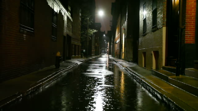Rainy Night in the City video