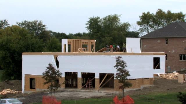 Raising Wall, Construction video