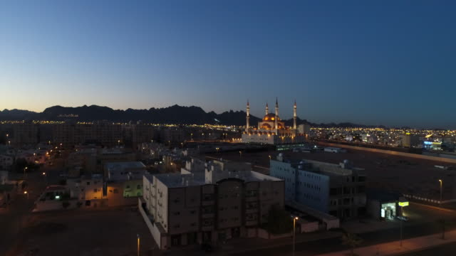 stockvideo's en b-roll-footage met rajhi moskee - ha'il - riyad