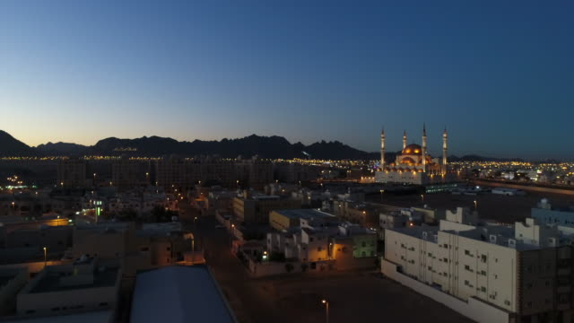rajhi mosque - ha'il - arabia saudita video stock e b–roll