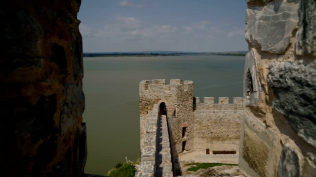 Ram fortress on the Danube river, Beautiful medieval fortress in Serbia