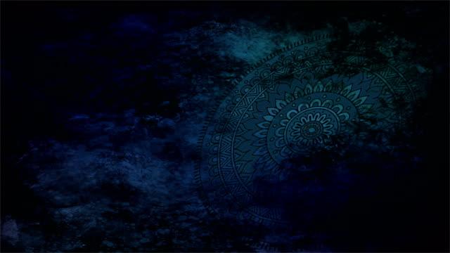 ramadan - asian arabic motif - islamic background - geometric shape wiht texture - eid stock videos & royalty-free footage