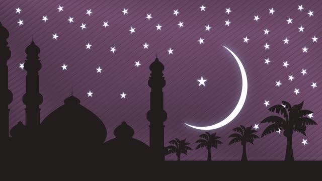 рамадан карим 4k full hd видео - ramadan kareem стоковые видео и кадры b-roll