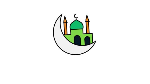 ramadan kareem design concept - ramadan kareem стоковые видео и кадры b-roll