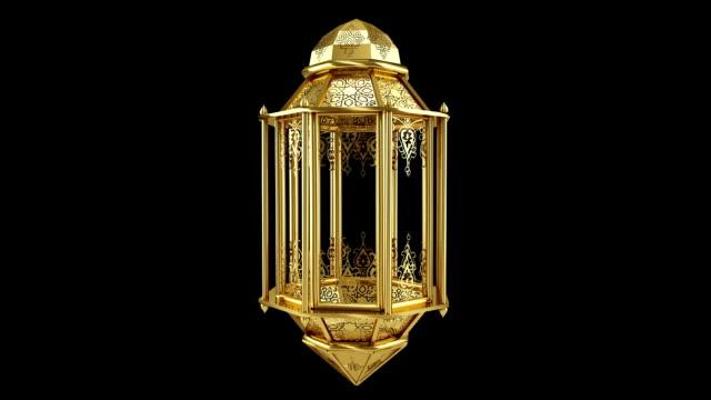 ramadan lantern loop - ramadanowa latarnia filmów i materiałów b-roll
