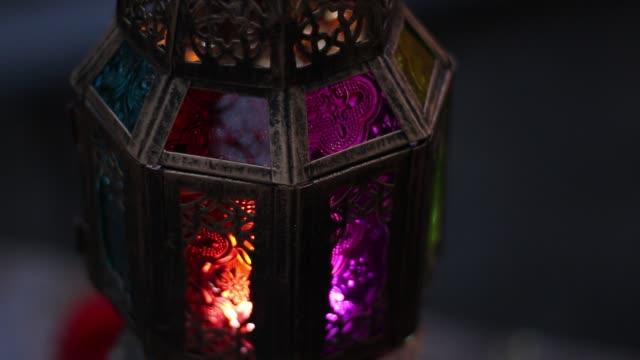 рамадан фонарь - фанус стоковые видео и кадры b-roll