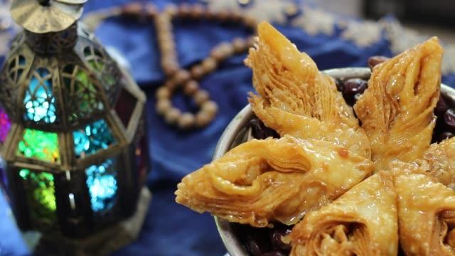 Sucreries et Desserts orientaux de Ramadan - Vidéo