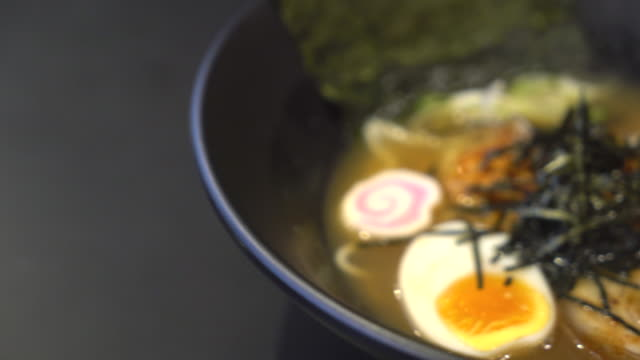 ラーメン ・日本食 - 高級料理点の映像素材/bロール