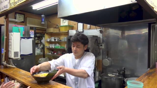 日本のラーメン屋 - 飲食店点の映像素材/bロール