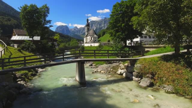 Ramsau Mountain Village In The Bavarian Alps video