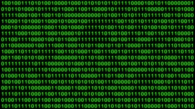 vídeos de stock, filmes e b-roll de animação aleatória de números digitais, dados binários - código binário