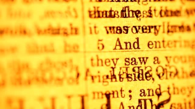 Random Bible Versus video
