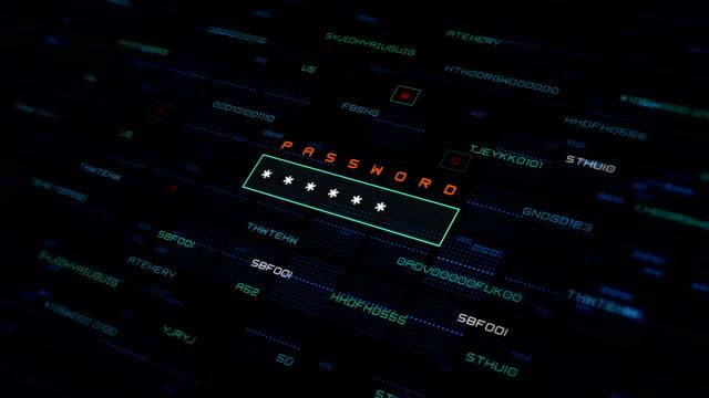 ランダムパスワードジェネレータ - パスワード点の映像素材/bロール