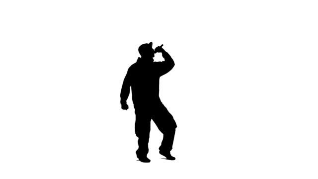 rapper - sångare artist bildbanksvideor och videomaterial från bakom kulisserna