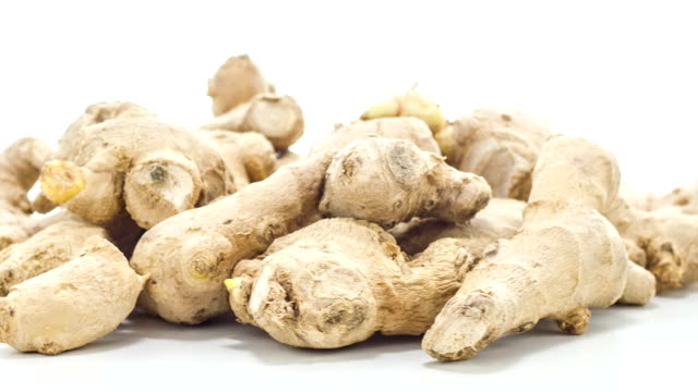 Raw ginger video