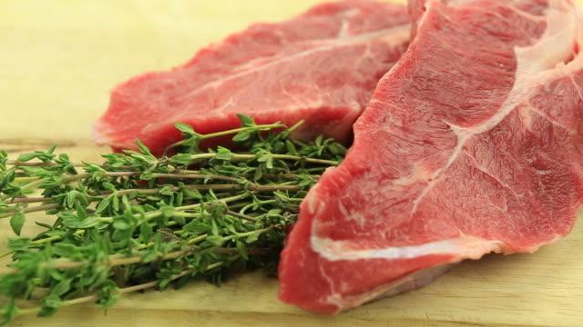Raw Steak video