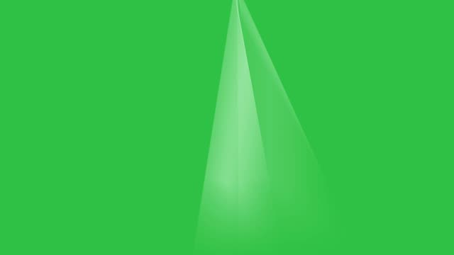 Rays of lights on green screen Rays of lights on green screen background animation. Beams light on stage footage HD video. electric light stock videos & royalty-free footage