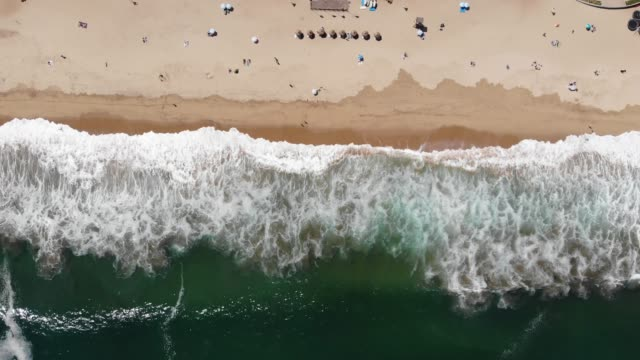 reñaca beach - aerial beach stock videos & royalty-free footage