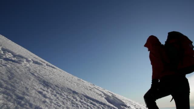 Reaching the summit - HD video