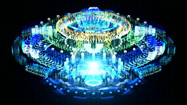 Reactor Core Hologram HUD video