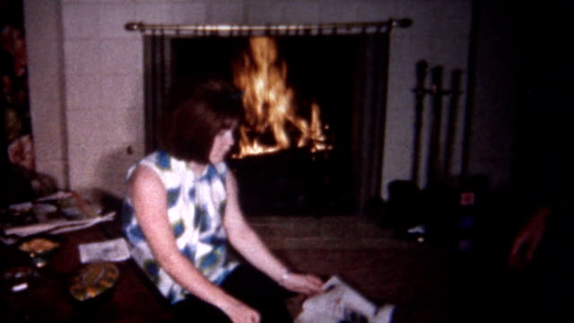 Reading by the Fire 1960's video