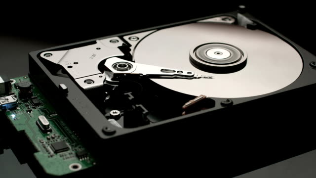 Reading data hard disk drive video