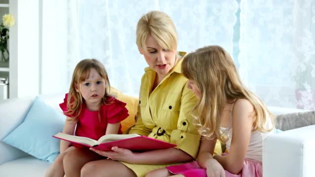 Reading fairy-tale video