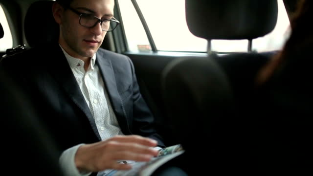 Reading magazine video