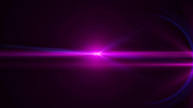 vidéos et rushes de lumière parasite véritable anamorphique. images 4k - verre optique