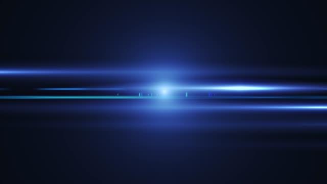 real anamorphic lens flare. 4k footage - оптический инструмент стоковые видео и кадры b-roll