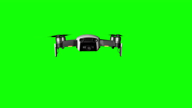 Real Drone Hovers in the Air on Green Screen or Transparent Background Real Drone Hovers in the Air on Green Screen or Transparent Background. Quadcopter with camera flying. Drone Flights with Alpha Matte. Aircraft and blades that rotate in hanging. 4K, 10 bit, 4.2.2. hovering stock videos & royalty-free footage